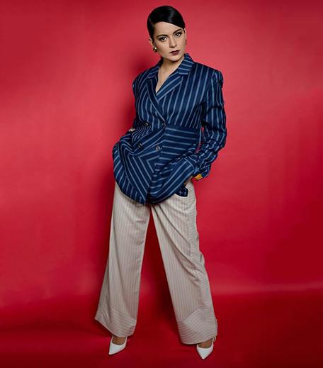 Hauterfly Kangana Ranaut Two Point Two Blazer Suit