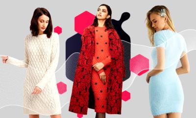 Hauterfly Deepika Padukone Sweater Dresses Erdem
