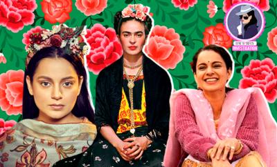 Hauterfly Kangana Ranaut Frida Kahlo Panga