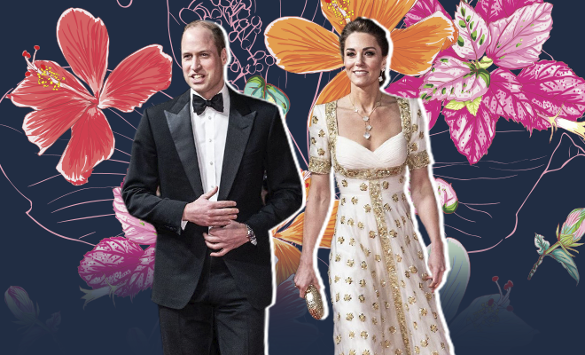 Hauterfly Kate Middleton BAFTAs 2020 In Alexander Mcqueen