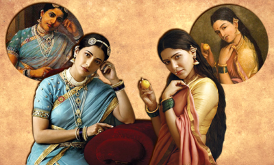 Recreation Of Raja Ravi Varma's Paintings 660 400 hauterfly