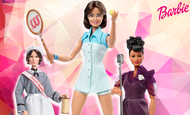 Barbie Doll Inspiring women collection