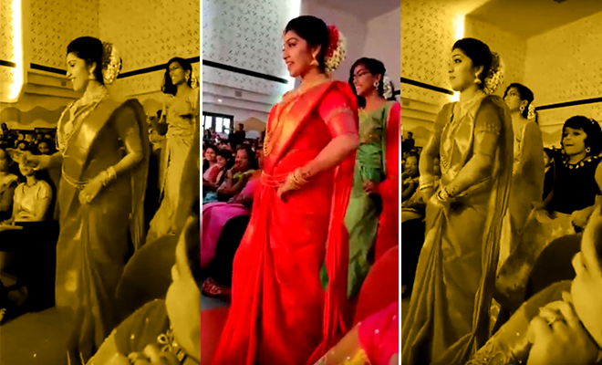 kerala bride dancing story 660 400 hauterfly