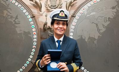 radhika-menon-first woman captain