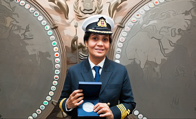 radhika-menon-first woman captain