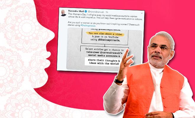 Narendra Modi Women's Day