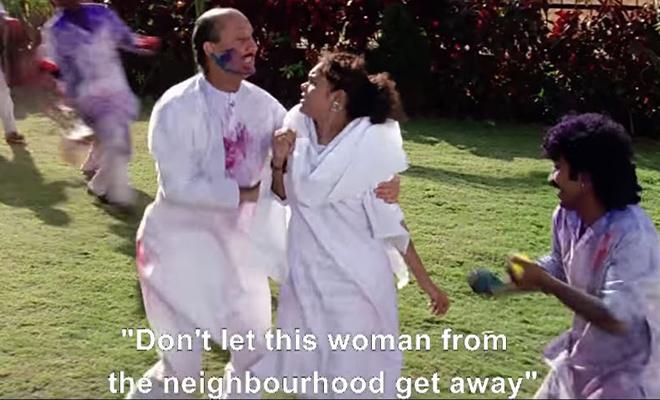 Sexist Holi