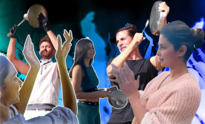 FI Celebrities Clapping