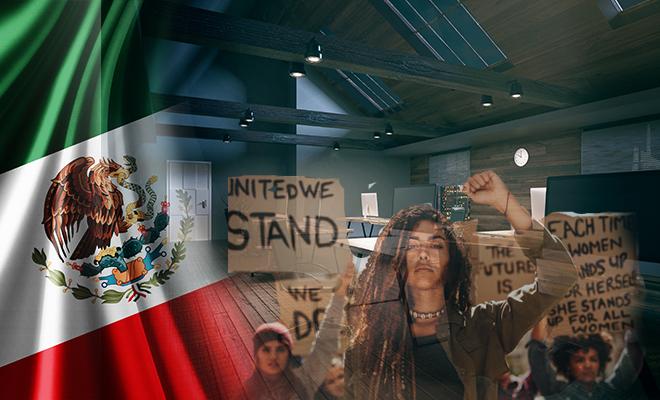 FI Mexico Protest