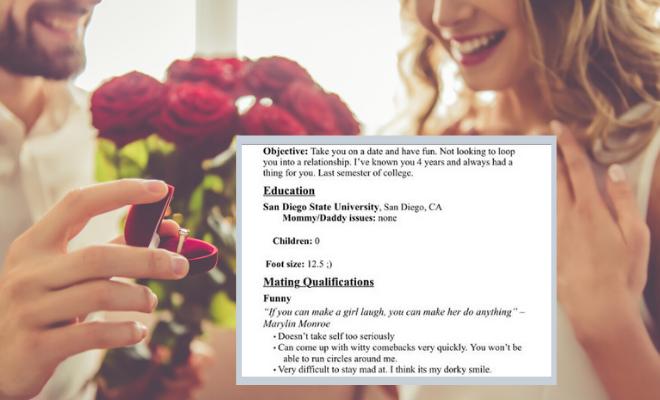 Proposal CV is so cute