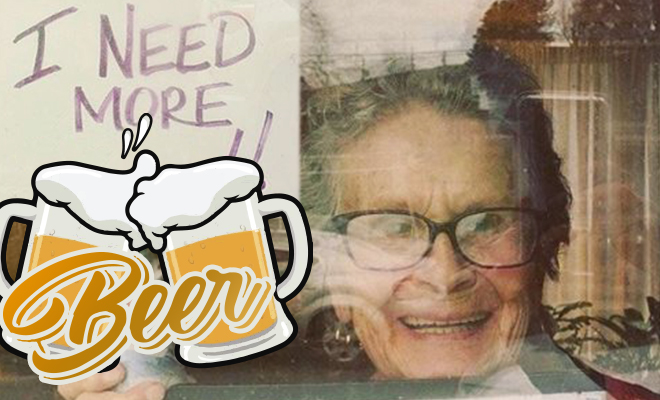 FI Grandmother Asks For Beer, Gets 150 Cans