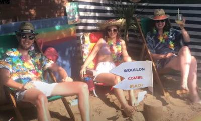 FI SpreadPositivity This Family Made A Beach