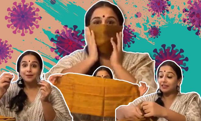 FI Vidya Gives Us Mask Vidya