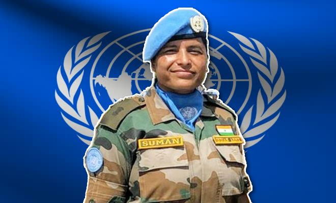 Major Suman Gawani Is The First Indian Woman Peacekeeper To Be ...