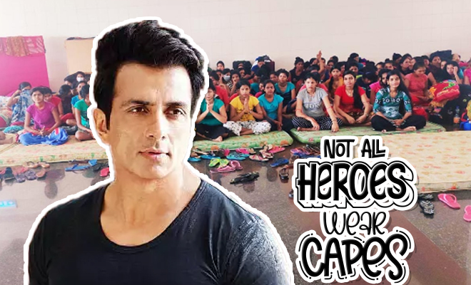 FI Sonu Sood Sent 151 Women Labourers Home