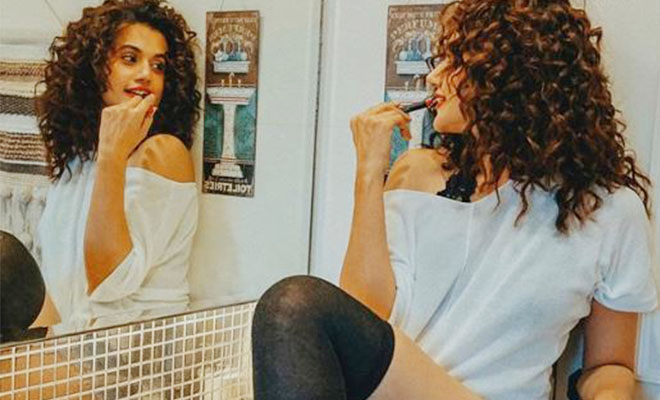 FI Taapsee's DIY Photoshoot Is The Bomb