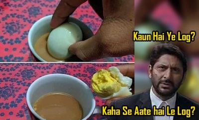 FI Chai And Boiled Egg Eww