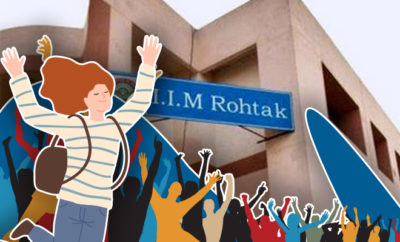 FI IIM Rohtak Takes In 69% Women