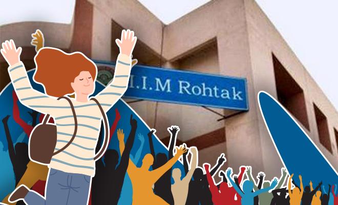 FI IIM Rohtak Takes In 69% Women