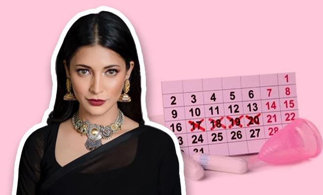 FI Shruti Haasan Talks About Periods