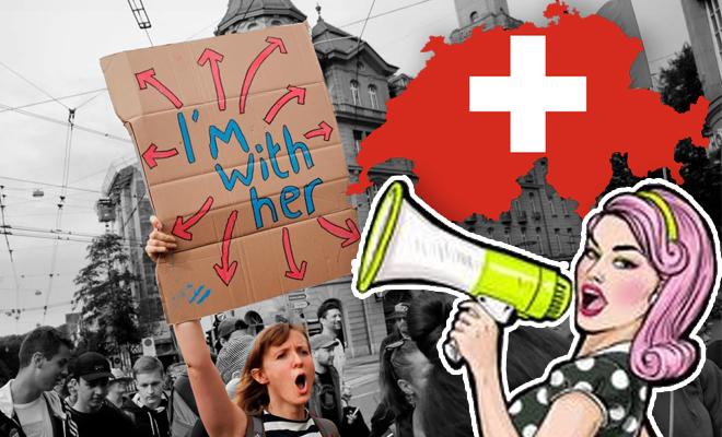 FI Women Scream In Protest
