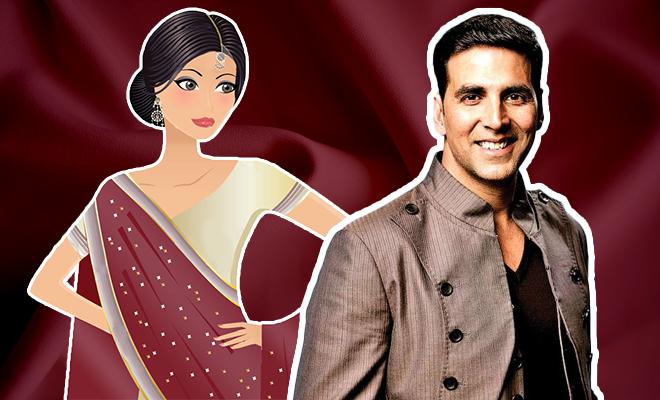 FI Akshay Kumar On Wearing A Saree