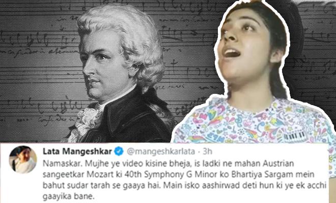 FI Girl Impresses Legends With Desi Rendition Of Mozart Piece
