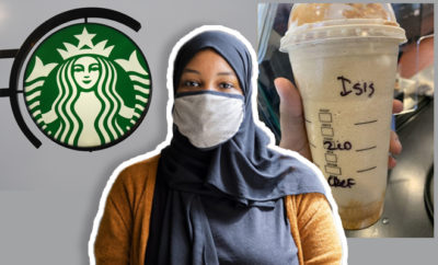 FI Muslim Woman Gets Cup With ISIS At Starbucks