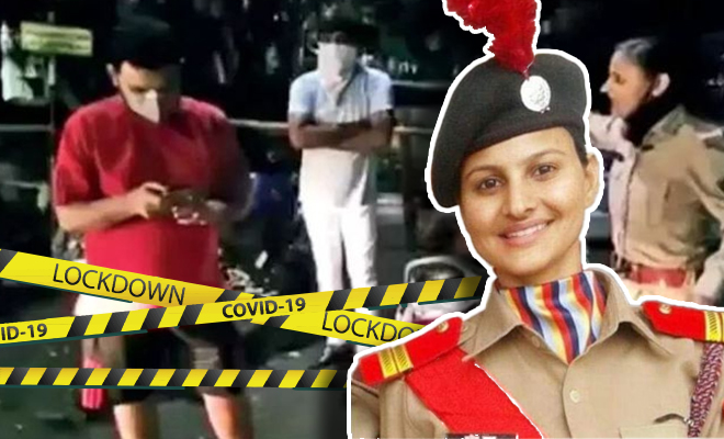 FI Policewoman Gets Transferred For Doing Duty