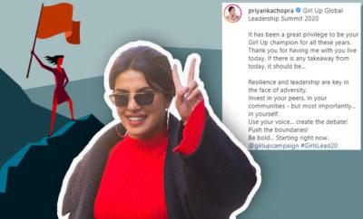 FI Priyanka Chopra Speaks Up For Girl Empowerment