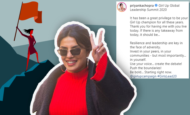 FI Priyanka Chopra Speaks Up For Girl Empowerment