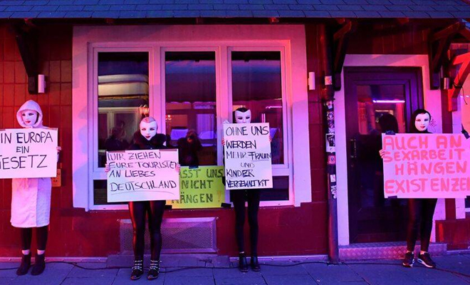 FI Sex Workers Protest Closure Of Work
