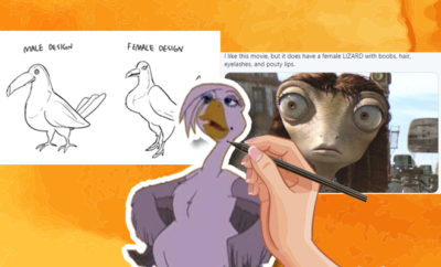 FI The Sexualisation Of Female Animated Animals