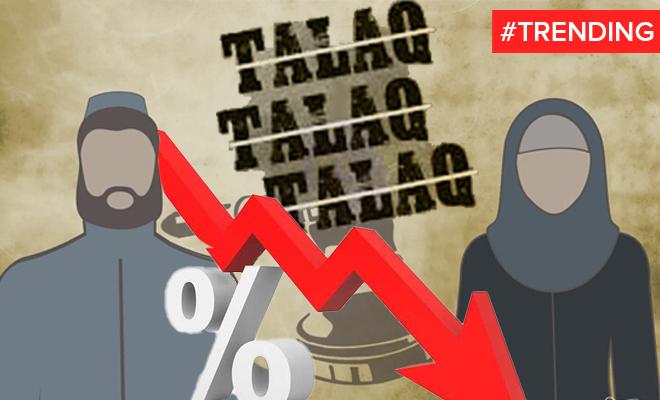 FI Triple Talaq Numbers Go Down