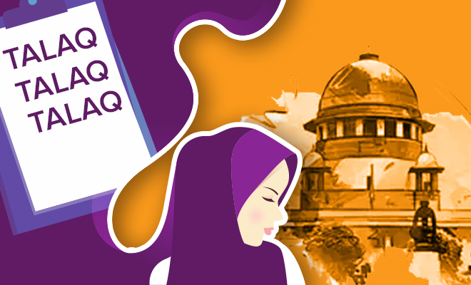 FI Woman Petitions Against Abolishment Of Triple Talaq