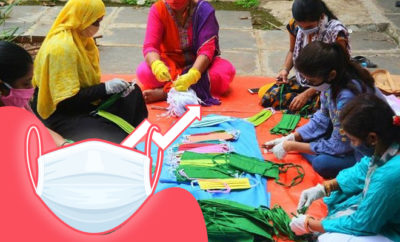 FI Women Startup Makes Masks, Gets Lots Of Orders