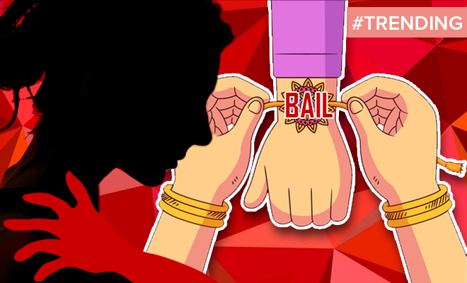 FI Get Rakhi Tied By Woman You Molested Court
