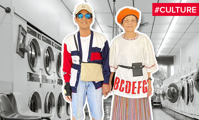 FI The Fashionable Grandparents Of The Laundromat