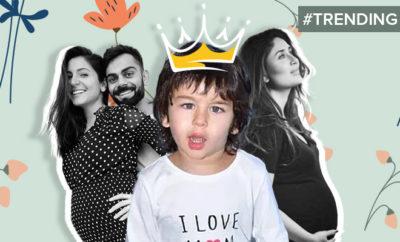FI Virushka's Baby News Causes Twitterati To Troll Taimur