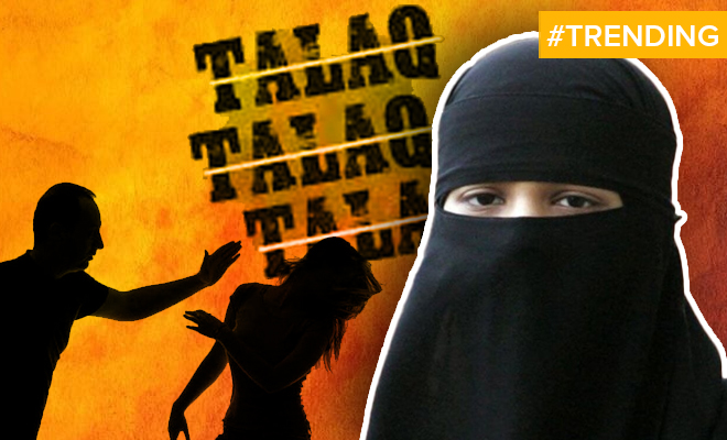 FI Woman Gives Triple Talaq