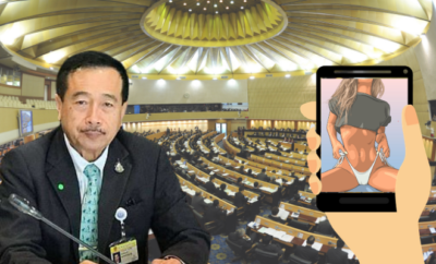 Thai MP Watching Porn