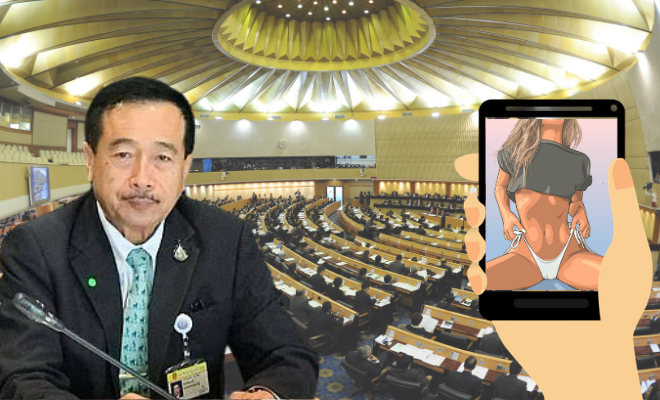 Thai MP Watching Porn
