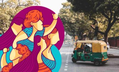 Bhopal women rickshaw drivers