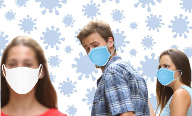 Man Elopes Claiming Coronavirus