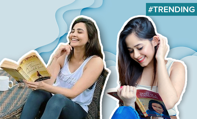 FI Actresses Hold Books, Don't Read Them