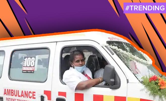 FI India's First Woman Ambulance Driver
