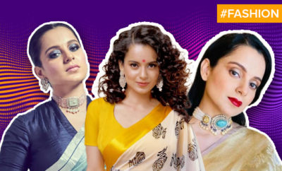 FI Kangana's Sarees Are Power Statements
