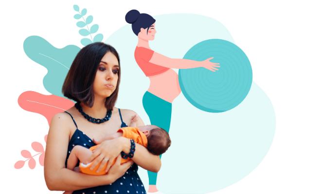 Postpartum body shaming