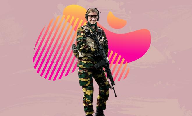 Princess in military (1)