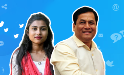 Fl-18-yr-old-student-from-tea-garden-takes-control-of-Assam-CM's-Twitter-handle